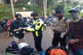 HUT ke-75 RI, Pendaki Gunung Lawu Karanganyar Dibatasi, Pos Dijaga Ketat Polisi