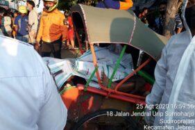 Tukang Becak yang Meninggal di Pasar Gede Diduga Sakit Jantung