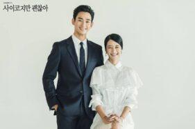 Kim Soo Hyun dan Seo Ye Ji pemeran Its Okey to Be Not Okey (istimewa/Instagram/@tvndrama.official)