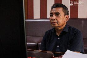 Manajer Persis Solo, Hari Purnomo, mengikuti virtual manager meeting bersama PT Liga Indonesia Baru (LIB) yang membahas soal kelanjutan Liga 2 2020, Selasa (11/8/2020). (istimewa/Persis Solo)