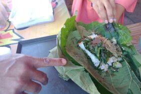Kuliner Khas Wonogiri Nasi Berbungkus daun Jati, Dari Nasi Berkat Hingga Nasi Angsul-Angsul