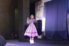 Prisa Putrialina Penyanyi Cilik Kelahiran Klaten Guncang Pembukaan Peringatan Sewindu UU Keistimewaan Jogja