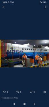 Cek Fakta: Pesawat N250 BJ Habibie Jatuh di Tol Banyumanik? Ini Faktanya