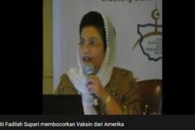 Siti Fadilah Supari. (Istimewa)