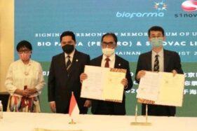 Pastikan Ketersediaan Vaksin Covid-19, Indonesia Kerjasama dengan China