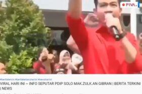 Cek Fakta: Benarkah PDIP Solo Makzulkan Gibran Putra Jokowi?
