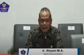 Ketua Gugus Tugas Covid-19 Solo, Ahyani. (Facebook/BNPB)