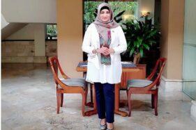 Astrid S Suntani, perempuan yang menjadi figur baru cawali Solo penantang Gibran di Pilkada Solo 2020. (Solopos/Kurniawan)