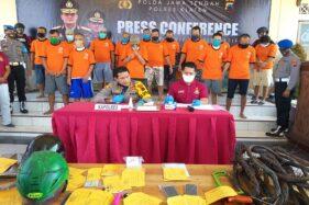 Polres Klaten Ringkus 15 Tersangka Pencurian, Ada yang Diburu Sampai Madura