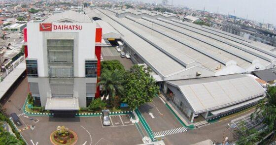 Pabrik Daihatsu. (Istimewa/Daihatsu)