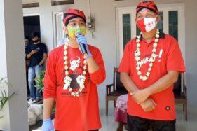 Cawali-cawawali Pilkada Solo 2020 dari PDIP, Gibran Rakabuming Raka-Teguh Prakosa. (Solopos/Kurniawan)