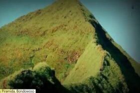 Gunung Piramid di Bondowoso, Jawa Timur. (Istimewa/Bisnis.com)