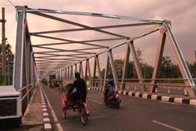 JIlustrasi Jembatan Bacem di Telukan, Sukoharjo (Solopos/Dok)