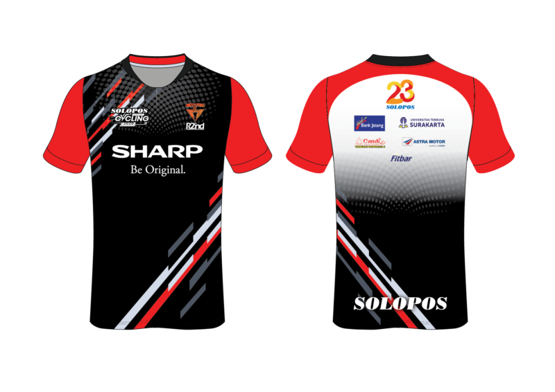Jersey Solopos Virtual Cycling 2020