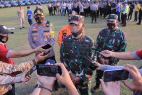 Tak Ada Suran Agung, 8 Pintu Masuk ke Madiun Dijaga Seribuan Personel TNI/Polri