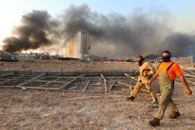 Kondisi Beirut, Lebanon setelah ledakan. (Reuters)