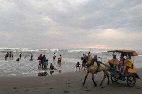 Ilustrasi Pantai Parangtritis, Bantul, DIY. (Harianjogja.com)