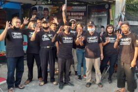 Para pendukung Bajo siap memenangkan pasangan calon dari jalur independen tersebut di Pilkada Solo. (Istimewa)