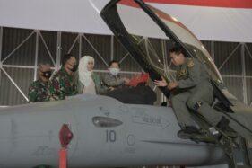 Kian Canggih Setelah Upgrade, 2 Pesawat Tempur F-16 Perkuat Lanud Iswahjudi