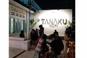 Kafe Tanaku Kopi (Istimewa/Aulianissa Salsabila).
