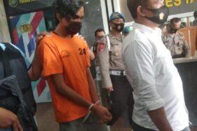 Tersangka kasus pemerkosaan di Bintaro ditangkap polisi. (Detikcom)