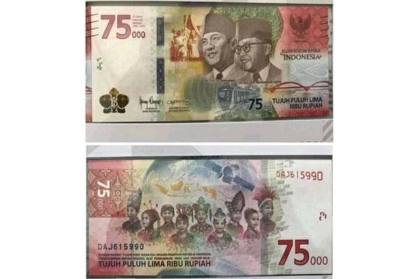 Hore! BI Buka Layanan Penukaran Uang Baru Rp75.000