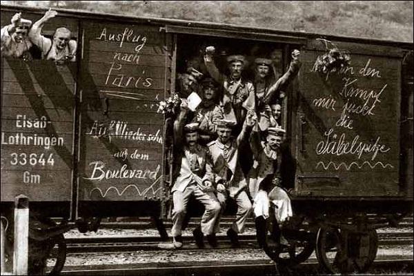 Hari Ini Dalam Sejarah: 3 Juli 1914, Jerman Nyatakan Perang ke Prancis
