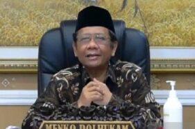 Menko Polhukam Mahfud MD. (Antara-Syaiful Hakim)