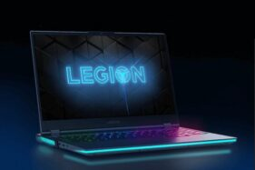 Tampilan laptop gaming Legion 7i. (Lenovo.com)