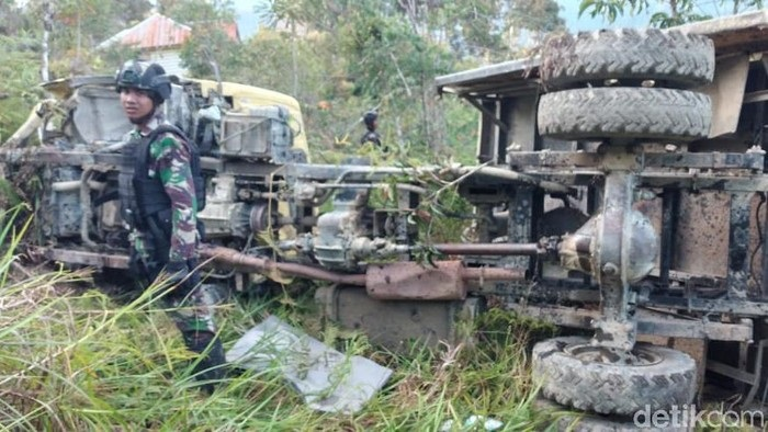 Rem Blong, Truk Pasukan Raider Kecelakaan 2 Prajurit TNI Gugur