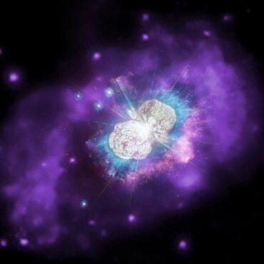 Penampakan eta carinae. (Nasa.gov)