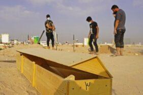 Ratusan Warga Bongkar Makam Korban Corona di Irak, Kenapa?