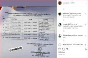 Jadwal Razia Masker di Solo Bocor, Satpol PP Akui Tak Rahasiakan Razia