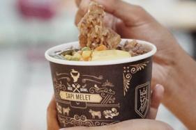 Penampakan kuliner Sapi Melet, kuliner baru di Solo Grand Mall (SGM). (Istimewa/Instagram Solo Grand Mall)