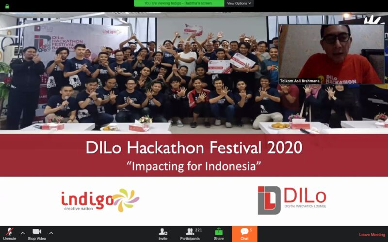 "DILo Hackathon Festival 2020 : ""Impacting for Indonesia"""