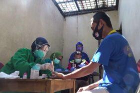 Penghuni Sel Tahanan Polres Grobogan Jalani Rapid Test, Ini Hasilnya