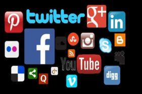 Aneka aplikasi media sosial. (Bisnis)