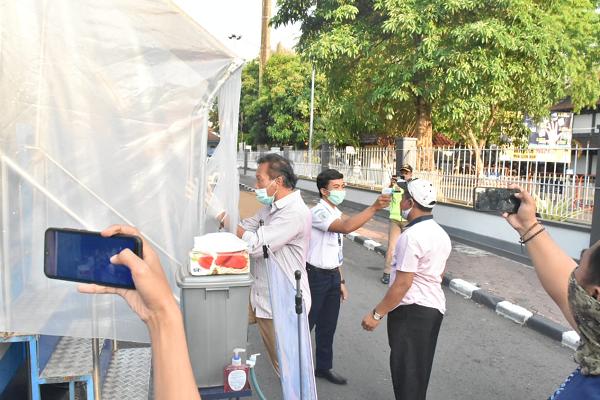 Asyik, Naik Bus Edukasi Protokol Kesehatan di Karanganyar bisa Karaokean di Bus