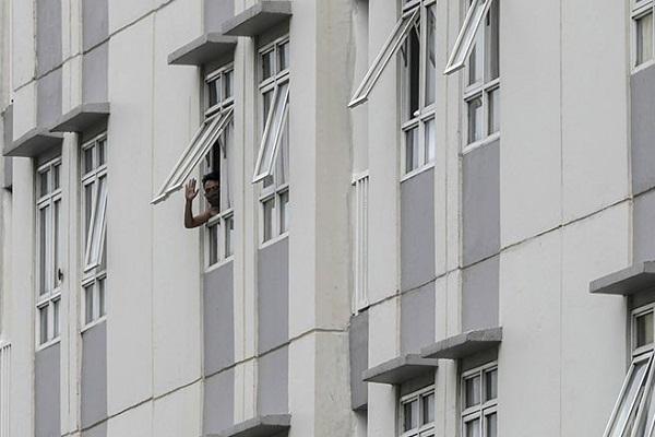 Tower 5 Wisma Atlet Kemayoran Terisi 91%