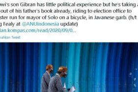 Peneliti Australia Bandingkan Gibran dan Jokowi Saat Maju Cawali Solo