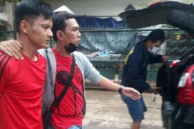 Anggota DPRD Palembang F-Golkar Doni saat diamankan BNN (dok. Istimewa)