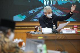 Gubernur Jateng Anggap Masker Senjata Ampuh Lawan Covid-19