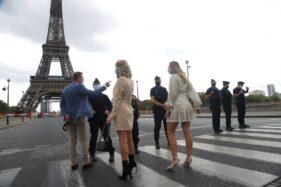 Ngeri! Menara Eiffel Diancam Bom, Pengunjung Dievakuasi