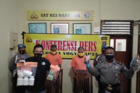 Warga 22 Tahun Asal Klaten Pasok Ribuan Pil Koplo ke Jogja, Dijual Secara Online