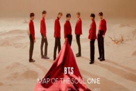 Poster BTS untuk konser Map of The Soul On:E, Jumat (25/9/2020). (Koreaboo.com)