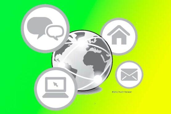 Ilustrasi smart city.  (Bisnis.com)