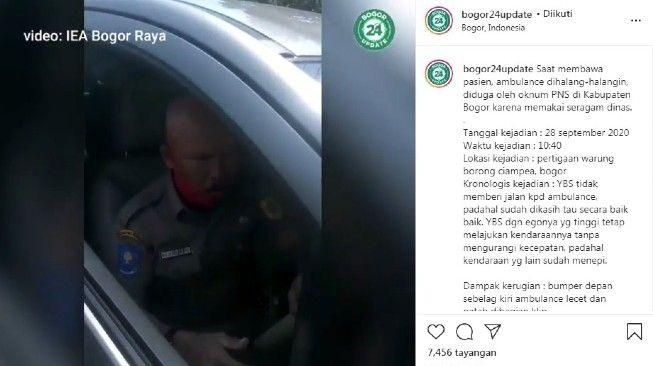 ASN di Bogor Adang dan Tabrak Ambulans, Ini Kronologinya