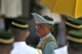 Raja Malaysia Yang di-Pertuan Agong Al-Sultan Abdullah Ri'ayatuddin Al-Mustafa Billah Shah (Detik.com/AFP)