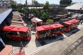 Jumlah Penumpang Bus Datang Di Terminal Tirtonadi Solo Meningkat Sejak Selasa