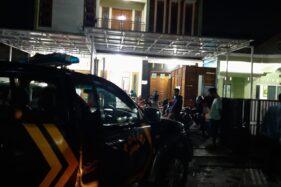 Kantor KSP Amarta Gubug, Kabupaten Grobogan lokasi pencurian sepeda motor, Selasa (29/9/2020) malam.(Istimewa)